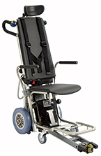 Stair lift with a wheelchair